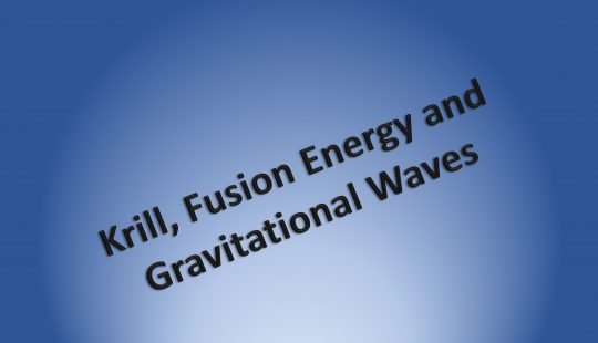Title: Krill Fusion and Gravitational Waves
